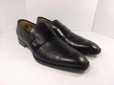 Men's Gucci 'Broadwick' Black Leather Loafer Shoes Size 8US / 7UK MSRP $695