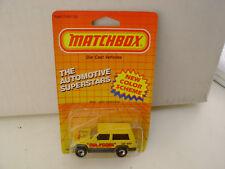 1987 MATCHBOX SUPERFAST MB27 #27 MR FIXER JEEP CHEROKEE NEW MOC