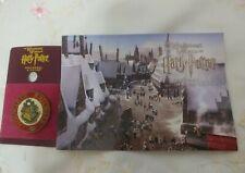 Universal Studios Hogwarts Railways Pin &Postcard Wizarding World Harry Potter