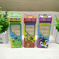 Large Jenga Tumbling Tower Wood Game Gift Toy Boy Girl Home Fun Game