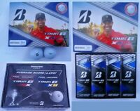 Bridgestone Tour B Xs Tiger Woods Edition PRO Golf Balls LIMITED EDITION -(12PK)