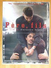 AFFICHE - PERE, FILS - Alexandre SOKOUROV - Prix Cannes 2003