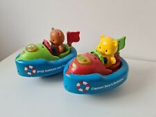 2x BABY BATH TOYS. BEARS IN BOATS