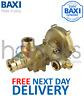 Baxi Combi 80E 80 Eco 105E 105HE Diverter Valve 7224344 248061 Genuine Part