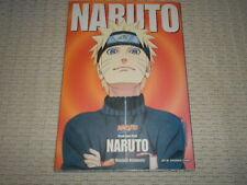 Naruto Illustration Book. Masashi Kishimoto.  Manga. Text in English.
