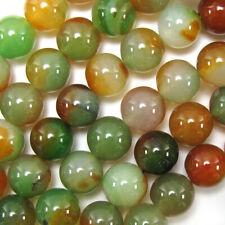 Lotes 4mm 6mm 8mm 10mm Color Natural A Rayas Ágata Onyx Gemas redonda suelta granos hágalo usted mismo