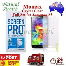 Momax Pro+ Screen Protector Film Guard HD Crystal Clear for Samsung Galaxy S5