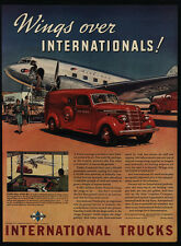 1939 INTERNATIONAL HARVESTER AirMail Truck - American Airlines - VINTAGE AD