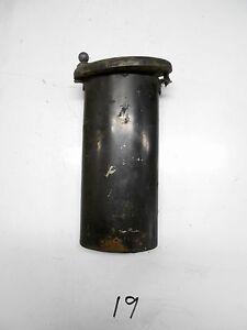 1934 Packard Super 8 Engine Oil Fill Tube & Cap Oval  1933 1935 1936