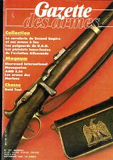 GAZETTE DES ARMES 157 pistolet connecticut chassepot second empire fusils steyr