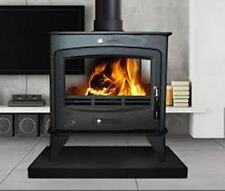 16KW Double Sided Multifuel Stove Flat Top New Woodburning Fire Log Burner 16kW