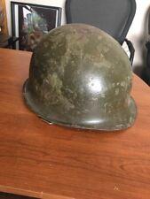 vintage ww 2 era army helmet US Military Original Paint