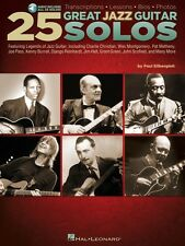 25 Great Jazz Guitar Solos - Transcriptions - Lessons - Bios - Photos  000703668