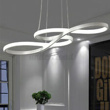 Acrylic Modern LED Ceiling Light Lamp Pendant Dining Room Dimmable Fixture