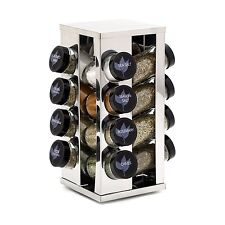 Kamenstein Heritage 16Jar Revolving Countertop Spice Rack with Free Spice