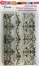 STAMPENDOUS Clear cling stamps ELEGANT BORDERS New for Card making & stamping