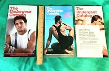 LOT OF 3: UNDERGEAR Catalog from 1986 VINTAGE NICE!