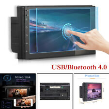 Bluetooth 1Din 7in Touch Screen GPS Car Stereo MP5 Player FM BT Radio Wifi USB