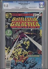 Battlestar Galactica #1  CGC 9.8 1979 Sci Fi Marvel Comic  TV series #1214590018