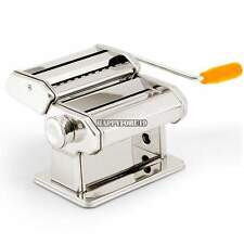 "New Pasta Maker Roller Machine 7""Dough Making Fresh Noodle Maker Stainless Steel"