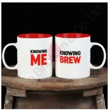 Mug Set  Knowing Me Knowing Brew Mr And Mrs Fun Coffe Tea Witch Cauldron Pot