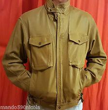 """Blouson CUIR T-M / 48  CAPUCHE """"Vintage-look"""" flight jackets pilote AVIATEUR"""