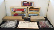 NIB - HO Bachmann No.47-401 Smucker's Santa Fe Train Set in Original Box - NIB