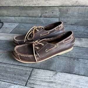 Timberland Leather Boat Shoes -  5.5 UK