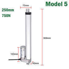 250mm 750N Linear Actuator Motor For Car Auto RV Electric Door Opener DC 12V