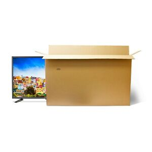 Box for TV Removal Large Cardboard Transport Storage Postal Packaging 60 to 67In