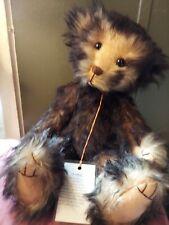 """Ooak Artist Bear """"Toby"""" Sefton Bears Wobble Head. From United Kingdom 15"""""""