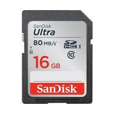 Tarjetas de memoria SD para cámaras de vídeo y fotográficas con 16 GB de almacenamiento