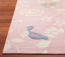Brand New 3 x 5 Barbie Pink Kids Style Handmade Woolen Rug & Carpet