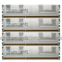 Samsung 32GB KIT 4x8GB 2Rx4 PC3-12800R DDR3 1600Mhz 240Pin ECC REG Server Memory