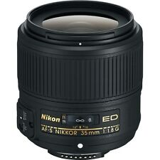 Nikon AF-S NIKKOR 35mm f/1.8G ED Lens for Digital SLR Cameras