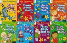 Julia Donaldson Songbirds Phonics Activity Book Set 1-8, Oxford Reading Tree