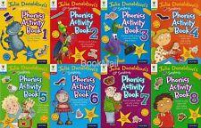 Julia Donaldson Songbirds Phonics Activity Book Set 1-8, Oxford Reading Tree