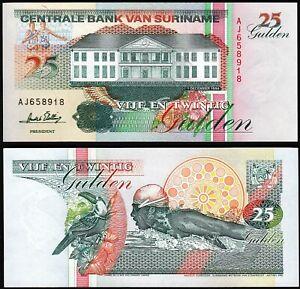 Surinam Suriname 25 Gulden, 1996, UNC, P-138c