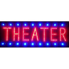 "Theather Beer Bar Led Sign 26""x16"""