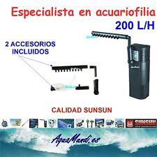 filtro interior interno acuario 200 L/H sunsun