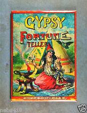 "Vintage Fortune Teller Box Art Fridge Magnet 2 1/2"" x 3 1/2"" Gypsy Tarot Cards"
