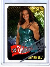 WWE Sharmell Autograph Signed Topps Card w/COA TNA