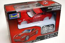 Revell 1/25 2014 Corvette Stingray Plastic Model Kit 854350 85-4350 RED COLOR