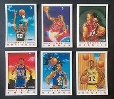 1990-91 Fleer Pro Visions Insert Set Of 6 With Michael Jordan - FREE SHIPPING!