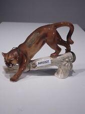 +#A002227 Goebel Arbeitsmuster, Wildtiere Serie, CW 59, Puma auf einem Ast, TMK4