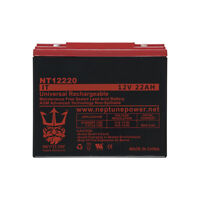12V 22AH SLA Internal Thread Replacement Battery for ES1230 ByNeptune