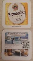Bierdeckel Krombacher Brauerei Kreuztal Krombach *130
