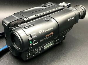 Sony CCD-TR400 Hi-8 Camcorder & Accessories VCR Player Video Transfer [MINT]