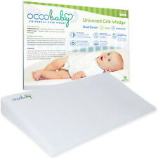 Universal Crib Wedge Pillow for Baby Mattress | Dual Layer | Waterproof & Cotton
