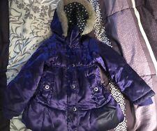 Jumping Beans Size 4 Girls kids purple Winter jacket